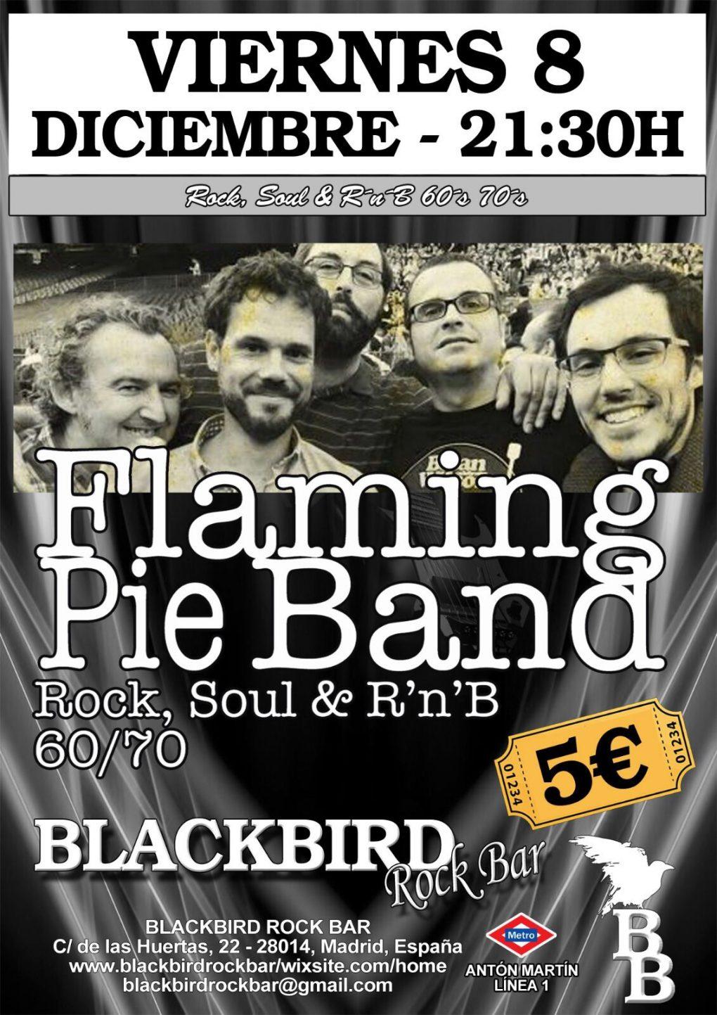 Flaming Pie 8 diciembre 2017 Blackbird