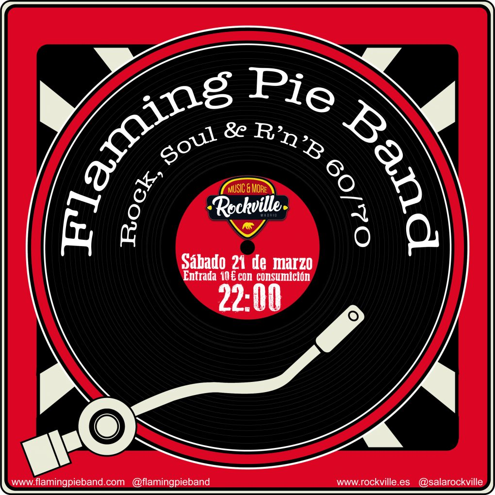 FLAMING PIE BAND ROCKVILLE MARZO 2020