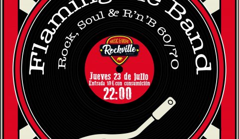 FLAMING PIE BAND ROCKVILLE JULIO 2020