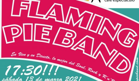 FLAMING PIE BAND SALA HEROE MARZO 2021