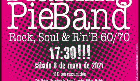 FLAMING PIE BAND MAYO 2021 HEROE MADRID
